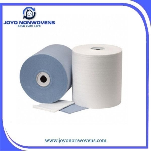 China Disposable Industry Cleaning Dry Wipes in Jumbo Roll on sale