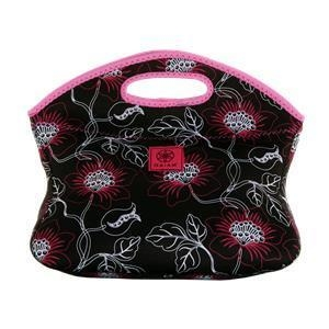 China Gaiam Neoprene Lunch Tote - Wildflower on sale