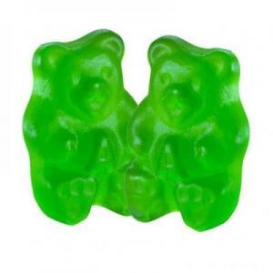 China Bulk Granny Smith Apple Gummi Bears on sale