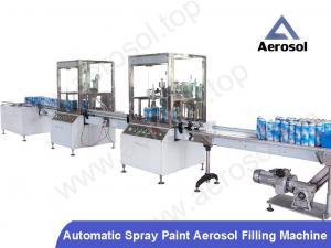 China Automatic Spray Paint Aerosol Filling Machine on sale