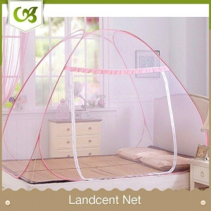 China High Quality Stand Zipper Pop up Double Bed Mosquito Net Tent on sale