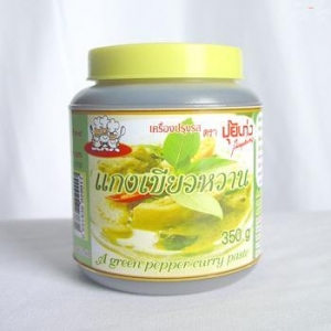 China Instant Green Curry Paste on sale