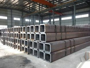 China RHS SHS Thick Wall ERW Rectangular Steel Pipe / Seamless Steel Tube for Building Structure on sale