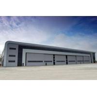 China Modern Low Profile Aircraft Hangar Buildings Attractive Multi Rib Panels on sale