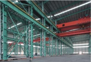 China Prefab House Seismic Proof Light Industrial Steel Workshop Easy Erection on sale