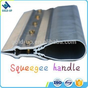 China Gold-up made screen printing aluminum squeegee holder/ handle on sale