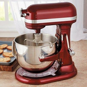 China KitchenAid 7-Quart Bowl Lift Stand Mixer, KSM7586P: Merlot - CHEFS exclusive on sale