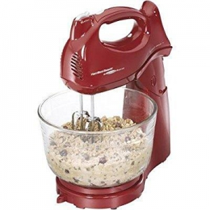 China Hamilton Beach Power Deluxe 4-quart Stand Mixer, Red on sale