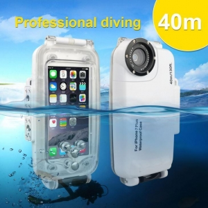China Phone Housing Seafrogs 40M/130FT Underwater waterproof housing case for Iphone 6/7/8 plus on sale