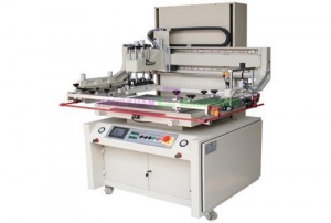 China Flatbed screen printing machine with servo driving(GW-5070S) on sale