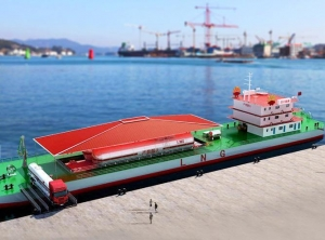 China LNG boat fueling station on sale
