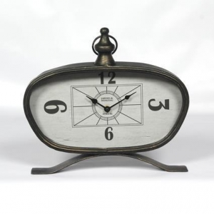 China Antique Metal Table Clocks on sale