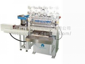 China 12 axis automatic up-down material winding machine on sale