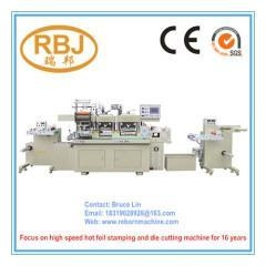 China Creasing Die Cutter Hot Foil Stamping Sticker Embossing Machine on sale