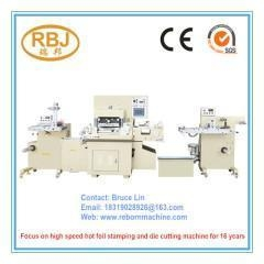 China Label Stickers Paper Roll Die Cutting Machine Manufacturer on sale