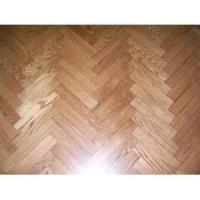 Herringbone parquet wood flooring