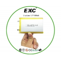 China Alkaline battery Exc126090 Lithium-Ion Polymer Battery 8000mAh on sale