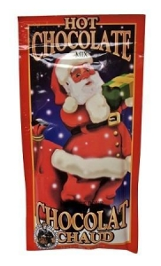 China Gourmet Foods Gourmet Village Santa Claus Hot Chocolate Mix on sale
