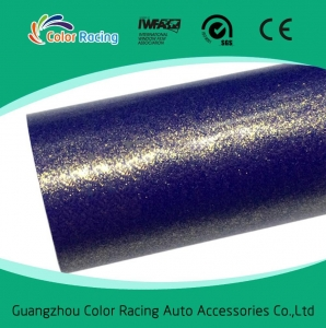China Wholesale Glossy Glitter wrap Self Adhesive Vinyl Film Car Wrap on sale