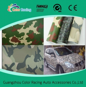 China Air bubble free good quality vinyl car wrap camouflage on sale