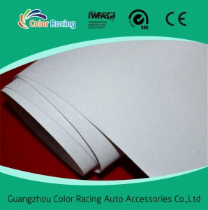 China Auto exterior accessories glitter adhesive car wrap film on sale