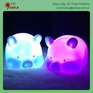 China The Adornment Of The Novel Animal Shapes Lit LED Lights Pig Toy on sale