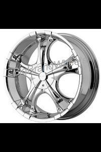 China Custom Rims Ice Metal Wheels IM894 - 17 inch 17x7.5 Chrome Rims-Rims on sale