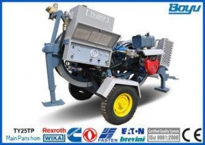 China Tension Force 25kN 2.5T Overhead Line Stringing Equipment 36mm Conductor Puller for Railway on sale