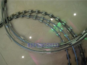 China Razor wire Mesh fencing on sale
