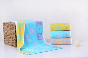 China apice Dyed back word towel on sale