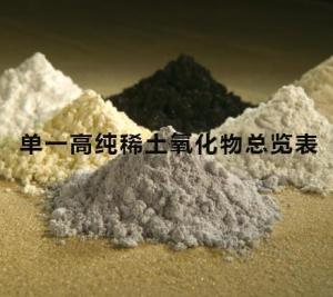 China Single High Purity Rare Earth Oxide on sale