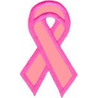 EMBROIDERY AWARENESS RIBBON - VARIOUS COLORS