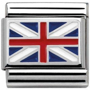 China Silvershine Nomination Great Britain Flag Charm on sale