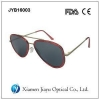 China Polarized Double Rim Plastic Aviator Sunglasses for sale