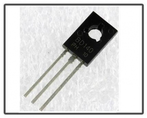 China PNP power transistors BD140 TO-126 on sale