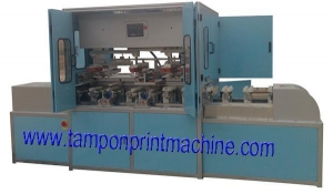 China 4Colors Egg Boxes Pad Printing Machine on sale