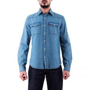 China Levi's Denim Western Shirt - Light Wash on sale