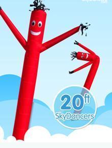 China Sky Dancers 20ft on sale