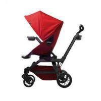 Open Box Orbit Baby G3 Ruby Stroller BLACK FRAME (Red Sunshade / Ruby Cargo Basket) $989.00
