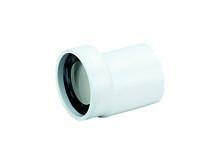 China offset WC connector type 781 white, DN100 on sale