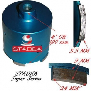 China Granite Masonry Concrete hole saw core bits by Stadea - 82mm or 3 1/4 on sale