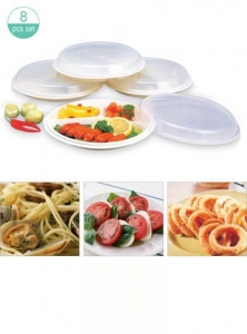 China Microwave Divided Plate / with Lid, M-887 on sale