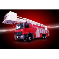 China 30m, 32m Aerial fire fight truck with sky ladder on sale
