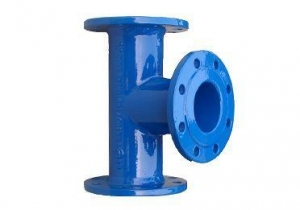 China Ductile Iron All Flanged Tee PN10 PN16 on sale