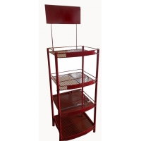 China Title:Metal display rack on sale