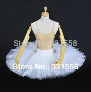 China white adult&child Half Ballet Tutu,professional half ballet tutus,girl tutu ballet,tutu danceBT8923 on sale