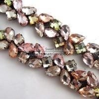 China Gemstone chain by the foot wholesale factory on sale