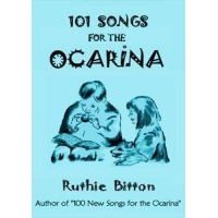 Abalone Products 101 Songs for the Ocarina (Best Ocarina Songbooks)