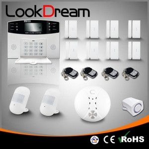 China LookDream Burglar Alarm System Wireless With Low Consume Power on sale