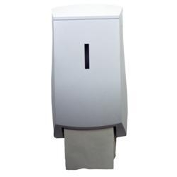 China Perola White Plastic TwinMatic System Double Toilet Roll Dispenser on sale